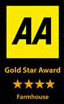 AA 4 Gold Star Award - Farmhouse B&B